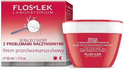 FLOSLEK Pielęgnacja skóry naczynkowej Krem przeciwzmarszczkowy na dzień i noc 50ml 1
