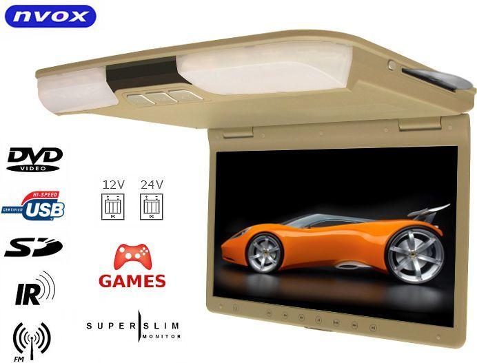"Nvox Monitor podsufitowy podwieszany LCD 15"" - RF1515D BEIGE 1"