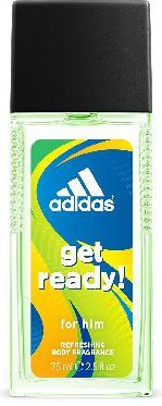Adidas Get Ready for Him Dezodorant w szkle 75ml 1