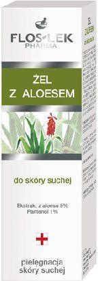 FLOSLEK Seria do pielęgnacji skóry suchej Żel z aloesem 50 ml 1