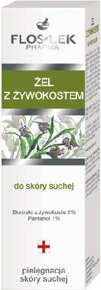 FLOSLEK Seria do pielęgnacji skóry suchej Żel z żywokostem 50ml 1
