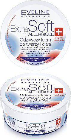 Eveline Extra Soft Krem do twarzy i ciała Skóra wrażliwa 200ml 1