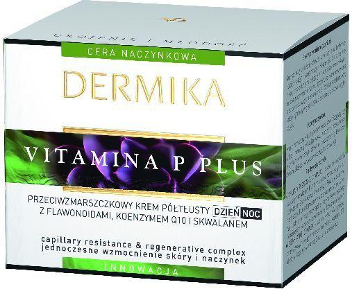 Dermika Krem do twarzy Vitamina P Plus przeciwzmarszczkowy 50ml 1