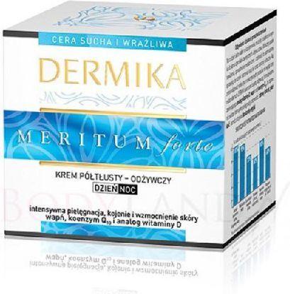 Dermika Meritum forte Krem półtłusty -odżywczy Dzień/Noc 50ml 1