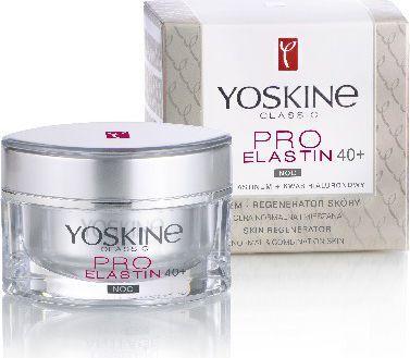 Yoskine Classic Pro Elastin 40+ Krem na noc 50ml 1