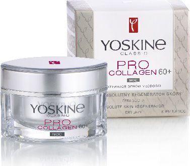 Yoskine Classic Pro Collagen 60+ Krem na noc 50ml 1