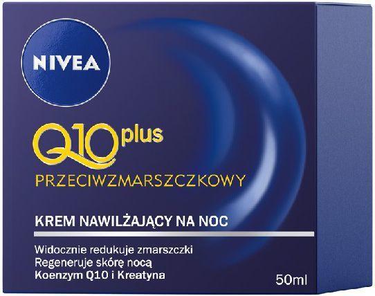 Nivea Q10 Plus Krem przeciwzmarszczkowy na noc 50ml 1