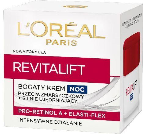 L'Oreal Paris REVITALIFT Krem na noc przeciwzmarszczkowy - ujędrniający 50 ml 1