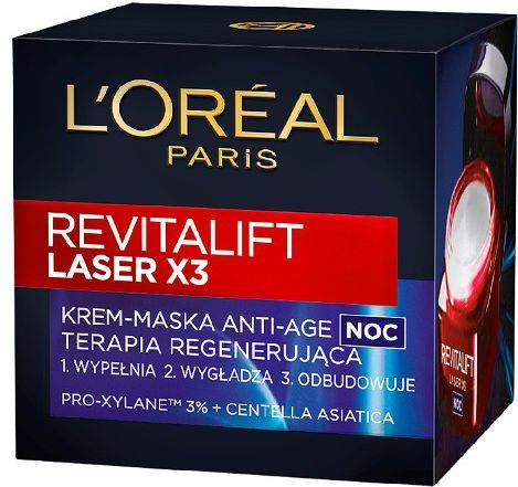 L'Oreal Paris REVITALIFT LASER Krem na noc 50 ml 1