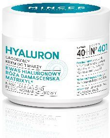 Mincer Pharma Hyaluron Krem łagodzący 40+ nr 401 50ml 1