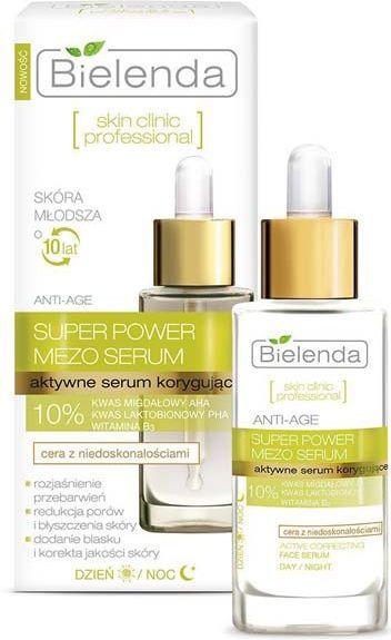 Bielenda Skin Clinic Professional Super Power Mezo Serum aktywne serum korygujące do twarzy 30ml 1