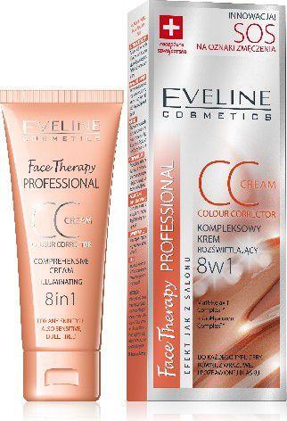 Eveline Face Therapy SOS Krem CC 8w1 na oznaki zmęczenia 30ml - 084460 1