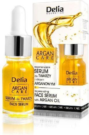 Delia Argan Care Serum do twarzy regenerujące z olejkiem arganowym 10ml 1
