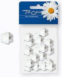 Top Choice White Klamerki 18szt 25259 1