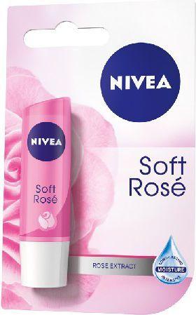 Nivea Lip Care Pomadka ochronna SOFT ROSE 4.8g 1