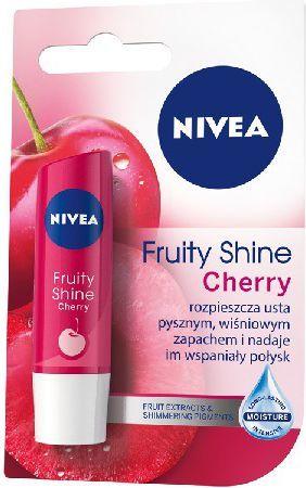 Nivea Lip Care Pomadka ochronna FRUITY SHINE CHERRY 4.8g 1