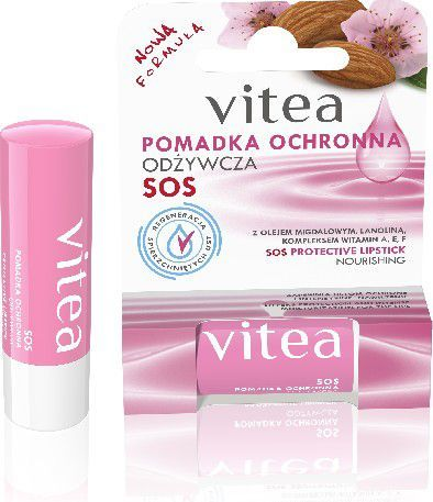 Vitea Pomadka ochronna do ust Odżywcza 4,9 g 1