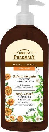 Green Pharmacy Balsam do ciała odmładzający Nagietek i Zielona Herbata 500ml 1
