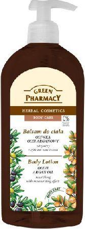 Green Pharmacy Balsam do ciała odżywczy Oliwka i Olej Arganowy 500ml - 813439 1