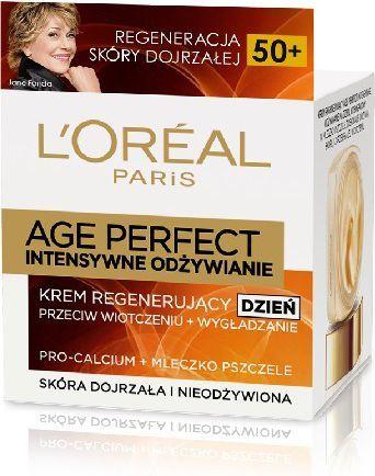 L'Oreal Paris Age Perfect Krem intensywnie odzywczy na dzien 50+ 1