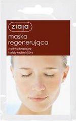 Ziaja Maska do twarzy regenerująca z glinką brązową 7ml x 20szt 1
