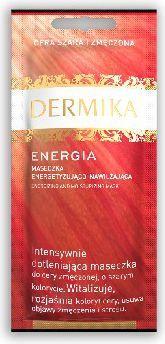 Dermika Maseczka energetyzująco-nawilżająca Energia 10 ml 1