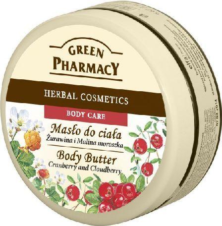 Green Pharmacy Masło do ciała Żurawina i Malina Moroszka 200ml 1