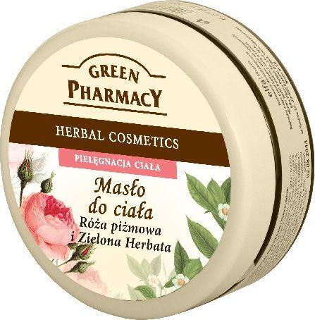 Green Pharmacy Masło do ciała Róża piżmowa, Zielona herbata 200ml 1