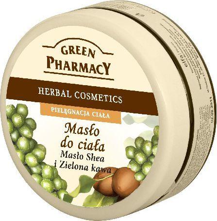 Green Pharmacy Masło do ciała Masło Shea, Zielona kawa 200ml 1
