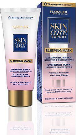 FLOSLEK Skin Care Expert Maska regenerująca całonocna na twarz 75ml 1
