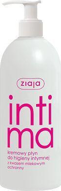 Ziaja Intima Kremowy płyn do higieny intymnej z kwasem mlekowym 500ml 1