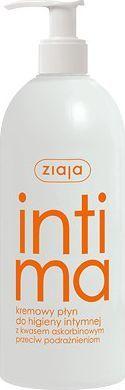 Ziaja Intima Kremowy płyn do higieny intymnej z kwasem askorbinowym 500ml 1