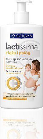 Soraya Emulsja do higieny intymnej Lactissima Ciąża i Połóg 300 ml 1