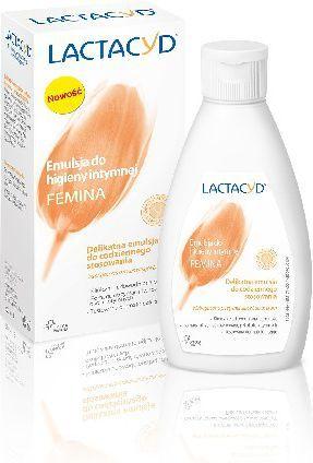 Lactacyd Femina Emulsja do higieny intymnej - nakrętka 200ml 1