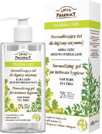Green Pharmacy Pharma Care Żel do higieny intymnej normalizujący Kora Dębu-Drzewo herbaciane 300ml 1