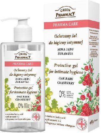 Green Pharmacy Pharma Care Żel do higieny intymnej ochronny Kora Dębu-Żurawina 300ml - 813170 1