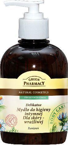 Green Pharmacy Mydło do higieny intymnej dla skóry wrażliwej Rumianek 370 ml 1