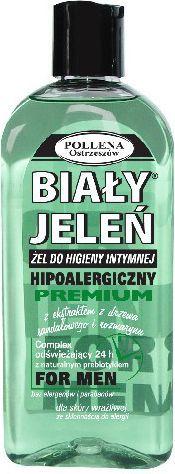 Biały Jeleń Żel do higieny intymnej hipoalergiczny Men Drzewo sandałowe i Rozmaryn 265 ml 1