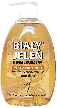 Biały Jeleń Żel do higieny intymnej hipoalergiczny Kora dębu 500 ml 1