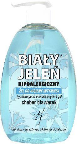 Biały Jeleń Żel do higieny intymnej hipoalergiczny Chaber bławatek 500 ml 1