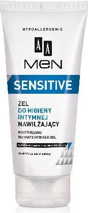 AA Men Sensitive Żel do higieny intymnej nawilżający 200ml 1