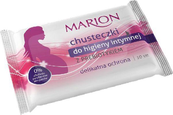 Marion Chusteczki do higieny intymnej z prebiotykiem 1op-10szt 1