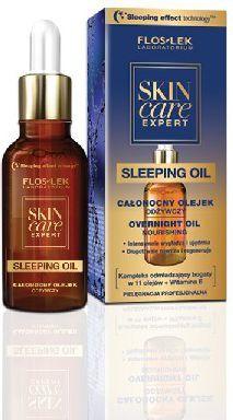 FLOSLEK Skin Care Expert Olejek odżywczy całonocny 30ml 1