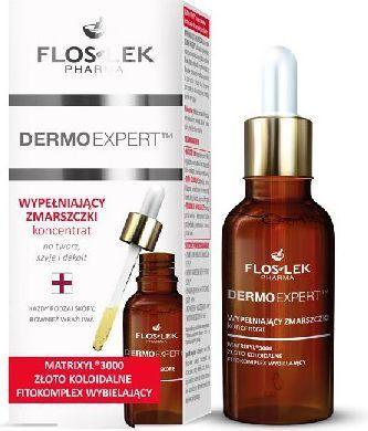 FLOSLEK Pharma Dermo Expert Koncentrat wypełniający zmarszczki 30ml 1
