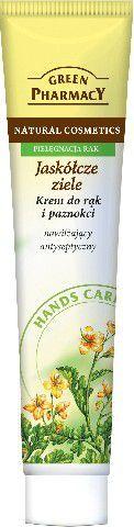 Green Pharmacy Krem do rąk i paznokci Jaskółcze ziele Nawilżający antyseptyczny 100ml 1