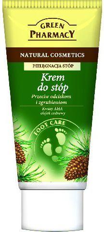 Green Pharmacy Krem do stóp przeciw odciskom i zgrubieniom Kwasy AHA, Olejek cedrowy 50ml 1