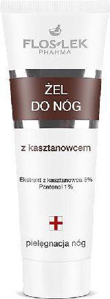 FLOSLEK Seria do pielęgnacji rąk i stóp Żel z kasztanowcem 50ml 1