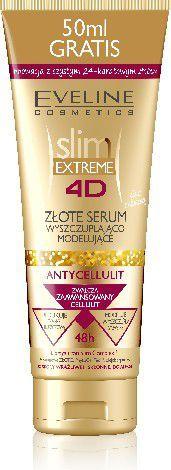 Eveline 4D slim EXTREME Złote serum antycellulitowe 250ml 1