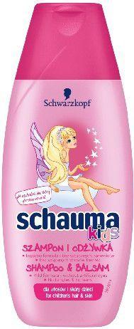 Schwarzkopf Schauma Kids Szampon i odżywka do włosów 250ml 1