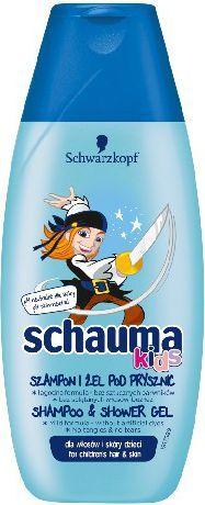 Schwarzkopf Schauma Kids Szampon i Żel pod prysznic dla chłopców 250ml 1
